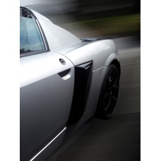 """VX220 Side """"Turbo"""" Vents with mesh"""